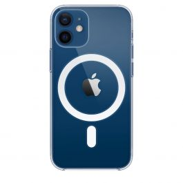 Coque transparente avec MagSafe pour iPhone 12 mini