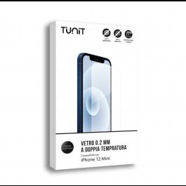 Double verre trempé 0.2mm pour iPhone 12 Mini