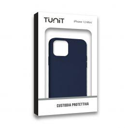 COQUE IPHONE iPhone 12 Mini Micro-Fibre Bleu Foncé