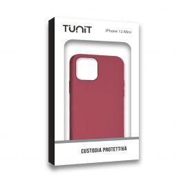 COQUE IPHONE iPhone 12 Mini Micro-Fibre Rose Rouge