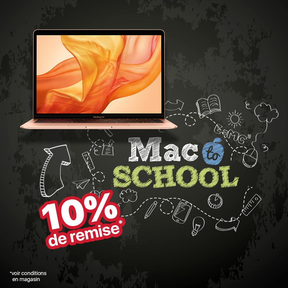 Mac To School