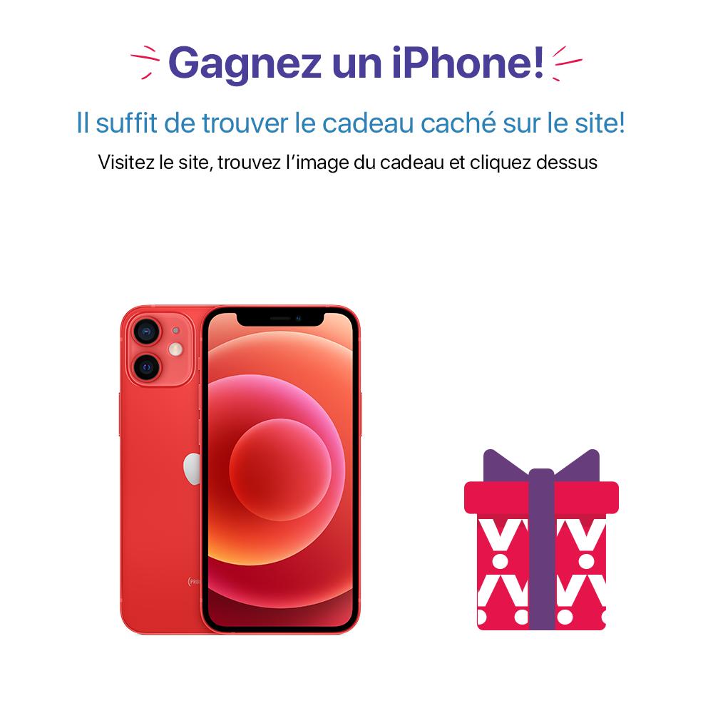 Gagnez un iPhone