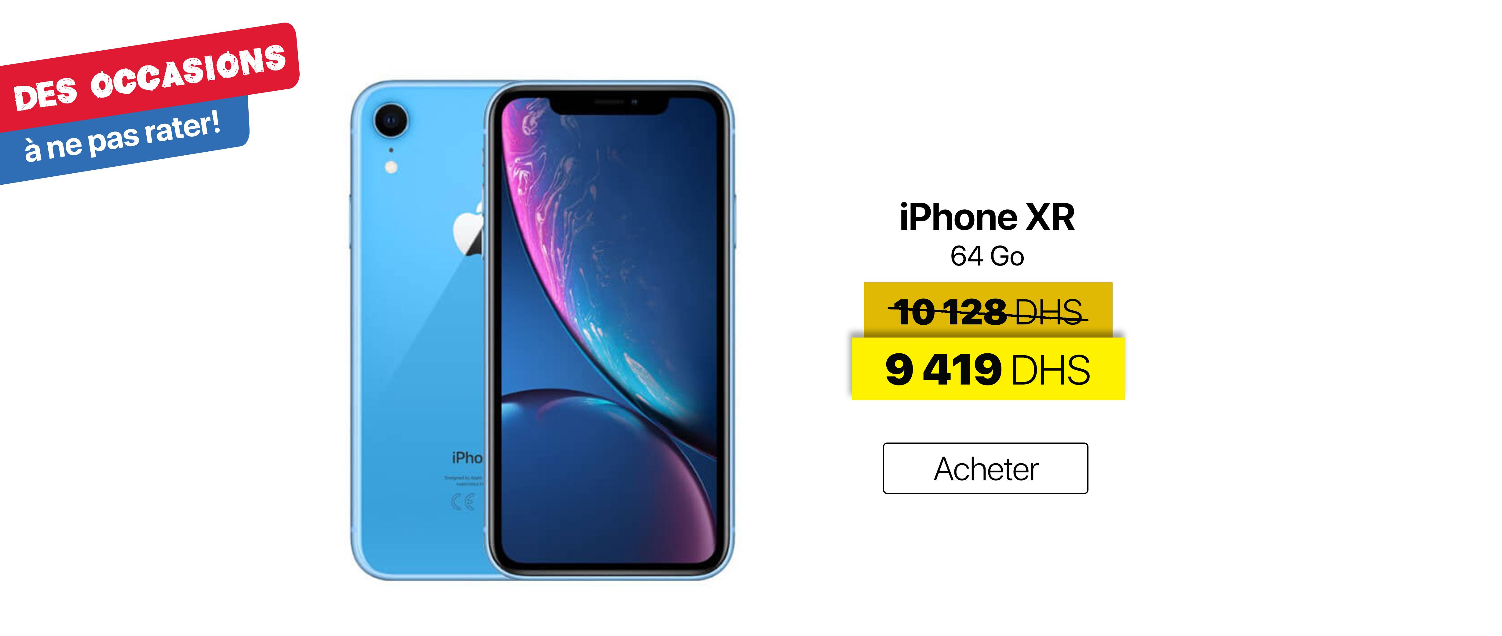 iPhone XR offer