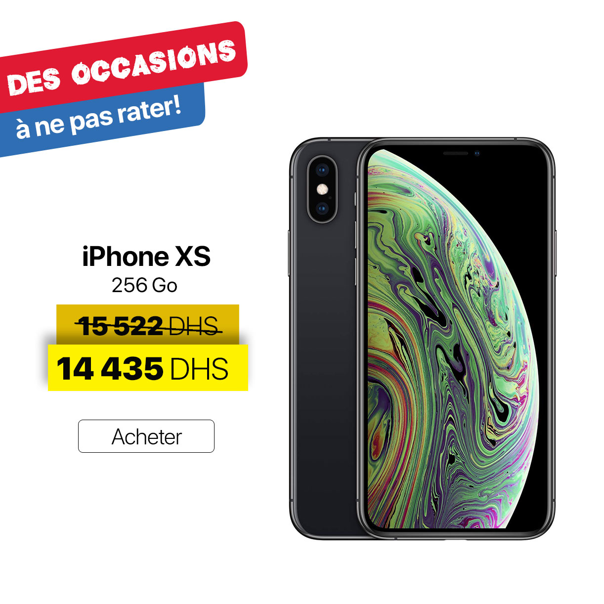 iPhone XS offer