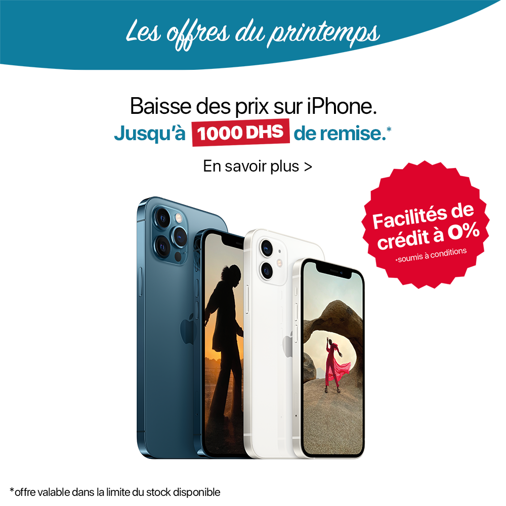 Offre iPhones